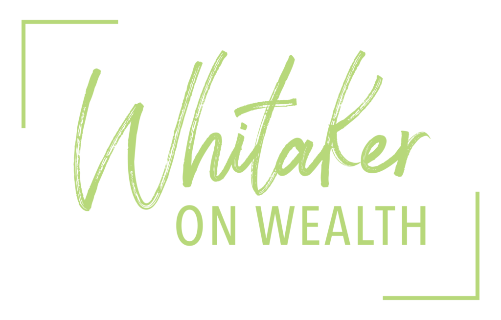 Whitaker on Wealth_logo_Light-green